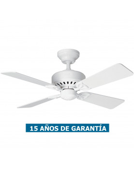 Ventilador de techo Hunter Bayport 107 color blanco