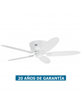 Ventilador de techo Hunter Low Profile color blanco