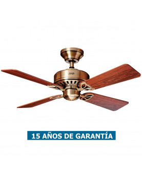 Ventilador de techo Hunter Bayport 107 color roble claro
