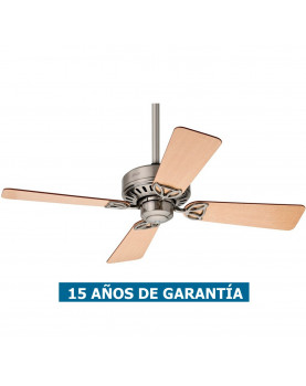 Ventilador de techo Hunter Bayport 107 color cromo satinado