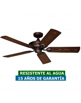 Ventilador para techo de exterior Maribel hunter 50555 resistente al agua