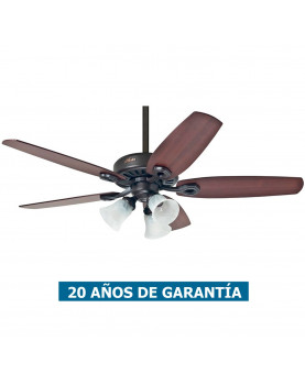 Ventilador de techo con luz Hunter Builder Plus 132
