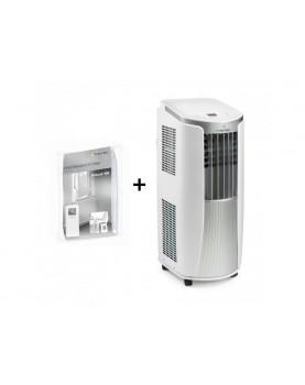 Aire acondicionado movil para ambientes hasta 34 m2 Trotec PAC 2610 E más cerramiento de ventana