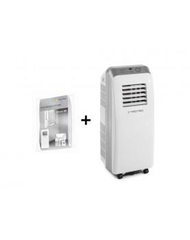 Aire acondicionado movil para ambientes hasta 32 m2 Trotec PAC 2600 E más cerramiento de ventana