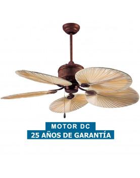 Ventilador de techo Caribbean Dream Eco 137 con aspas de palma