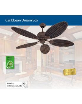 Ventilador de techo CasaFan Carribean Drean Eco aspas de