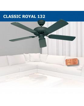 Ventilador para el techo con mando a distancia Classic Royal 132 en color grafito