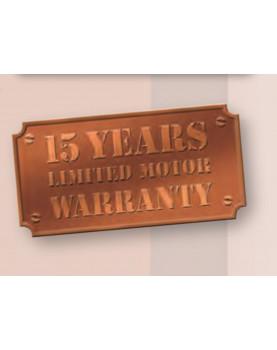 Garantía de 15 años para motores CasaFan Royal