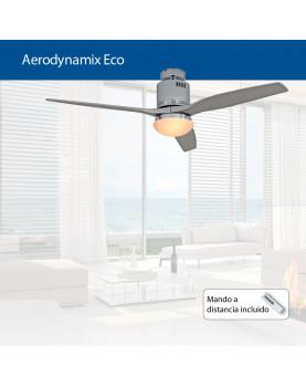 abanico de techo con luz  AERODYNAMIX ECO