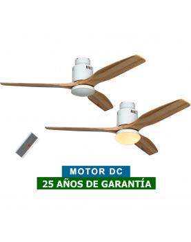 ventilador para techos 93132323 AERODYNAMIX ECO con luz