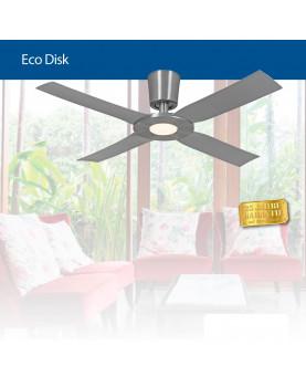 aspas transparentes carcasa en n/íquel satinado AireRyder Loft ventilador de techo con luz y mando a distancia 112 cm