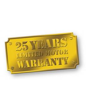 25 años de garantía para el motor de bajo consumo del ventilador para techo