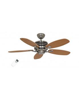 ventilador para el techo con mando y posibiliada de luz CasaFan 9510350 ECO GAMMA color arce