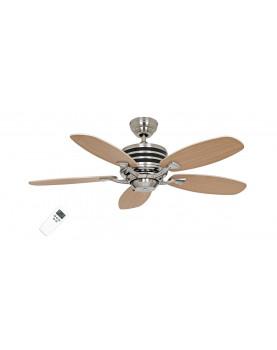 ventilador para el techo con mando y posibiliada de luz CasaFan 9510350 ECO GAMMA color haya