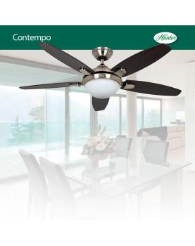 lámpara con ventilador Hunter con luz 50612 CONTEMPO 132