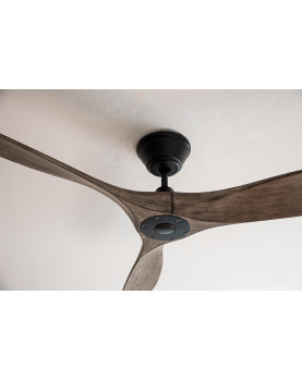 Ventilador de techo CasaFan 315221 ECO AIRSCREW 152 aspas de madera y motor negro