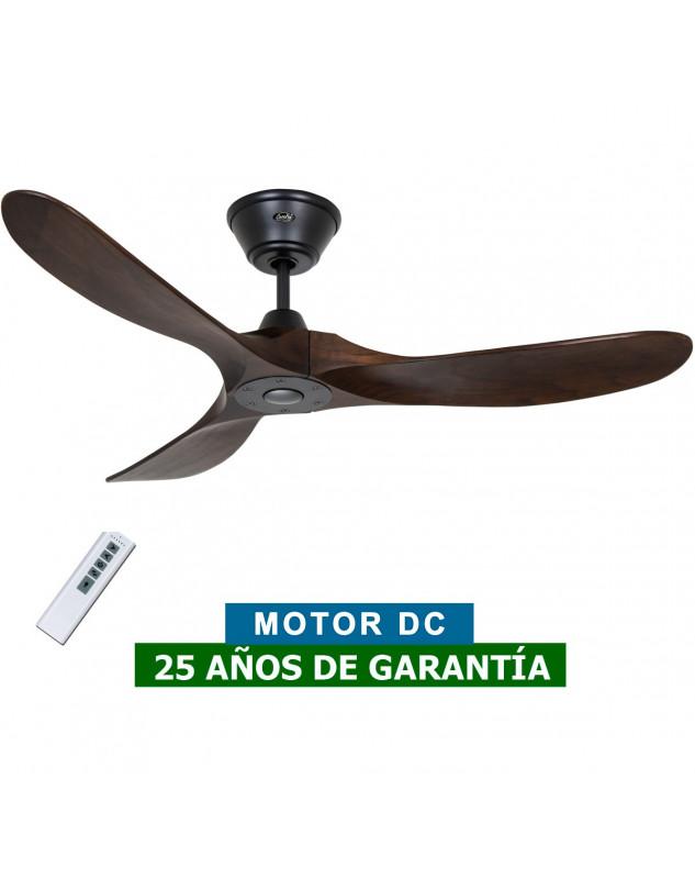 Ventilador de techo CasaFan 312217 Eco Genuino madera maciza color nogal con mando a distancia