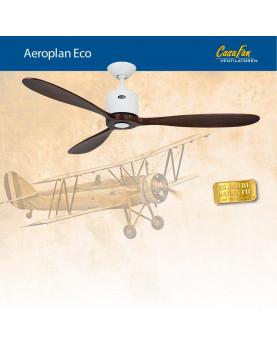 abanico de techo CasaFan 313249 AEROPLAN ECO con forma de avión