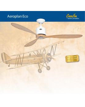abanico de techo CasaFan 313251 AEROPLAN ECO con forma de avión