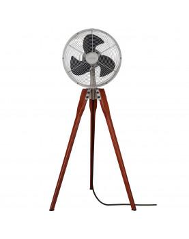 Ventilador de pie Fanimation con soporte de madera