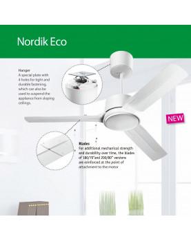 Ventilador de techo Vortice NORDIK ECO usos comerciales