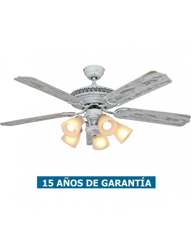 Ventilador de techo CasaFan 513212 centurion 132 color blanco gastado