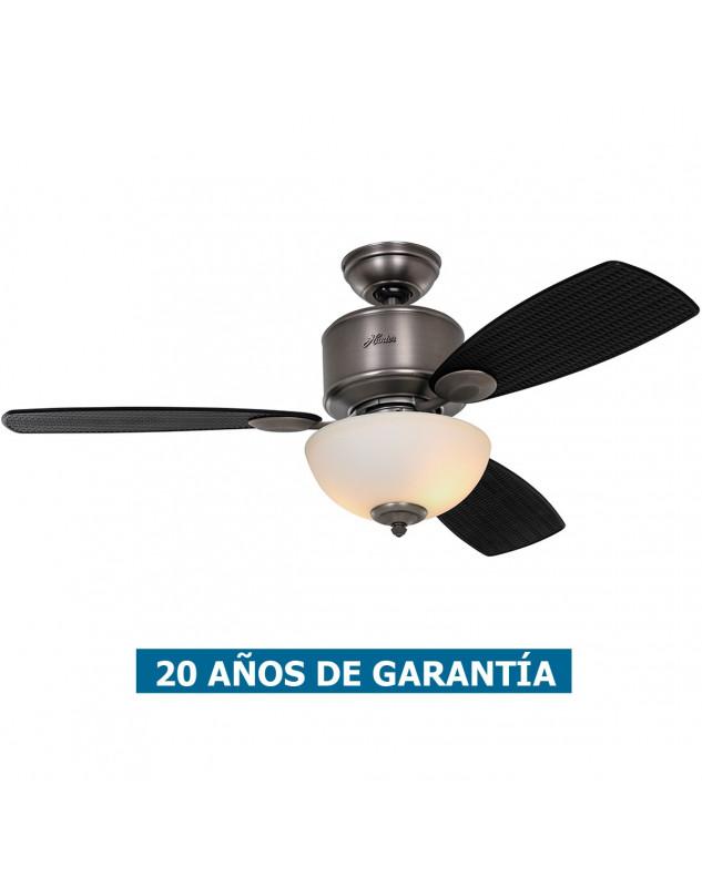 lámpara dde techo con ventilador Hunter 50610 KOHALA BAY
