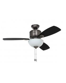 lámpara con ventilador Hunter 50610 KOHALA BAY PW
