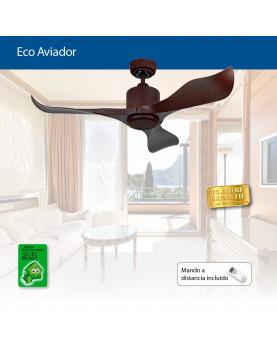 ventilador con motor DC con muy bajo consumo para el techo
