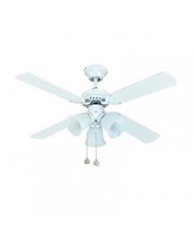 Ventilador de techo con luz Sulion 075438 Hornet
