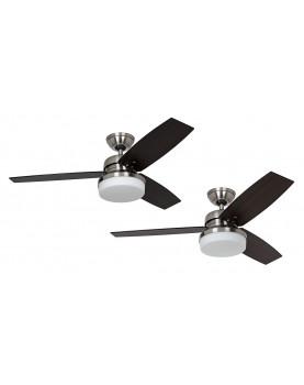 ventiladores con aspas reversibles y gran luz Hunter