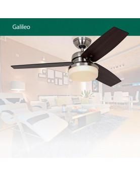 lámpara con ventilador de techo Hunter