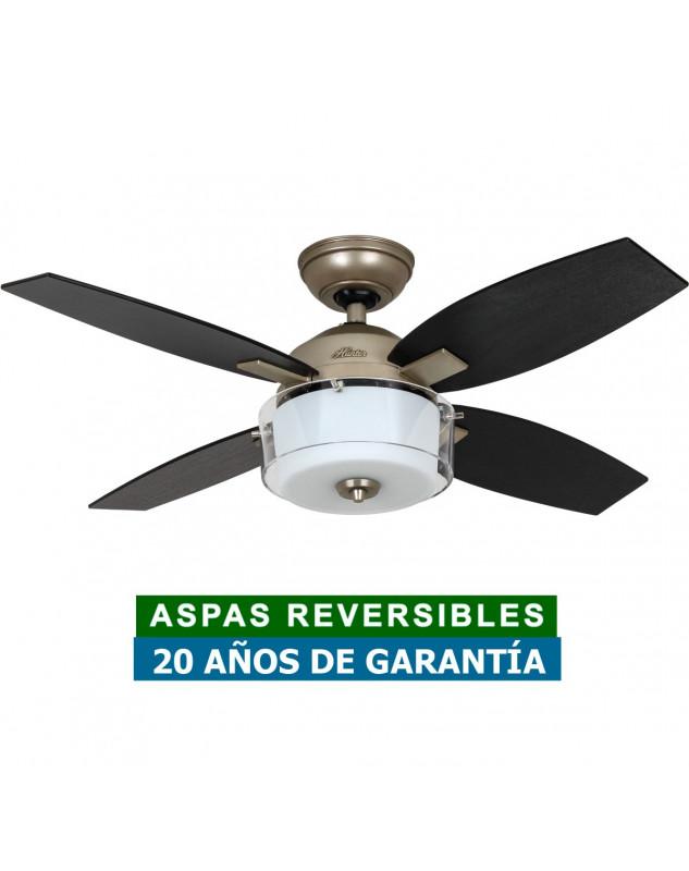 ventilador para el techo con luz Hunter 50619 CENTRAL PARK
