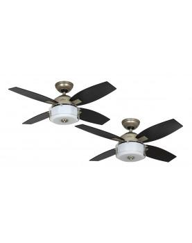 ventilación para el techo con luz CENTRAL PARK Hunter 50619