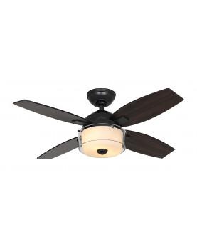 lámpara con ventilador de techo Hunter 50618 CENTRAL PARK