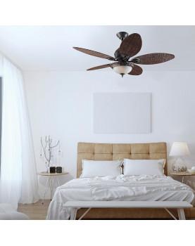 ventilador para el techo con estilo tropical 24457 CARIBBEAN BREEZE