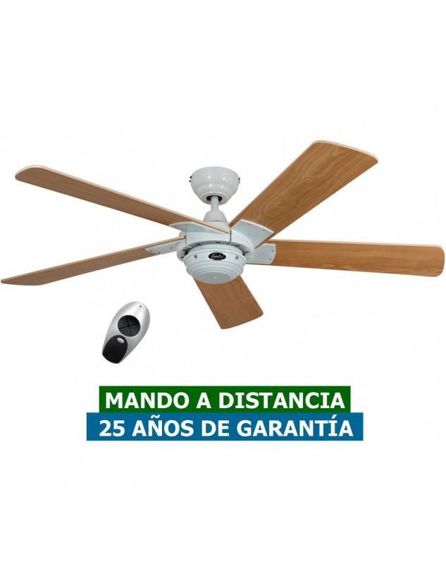 Ventilador para techos CasaFan 9513277 ROTARY 132 haya/ blanco