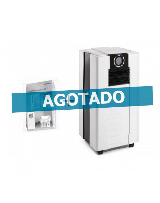 agotado Aire acondicionado movil para ambientes hasta 62 m2 Trotec PAC 4700 más cerramiento de ventana