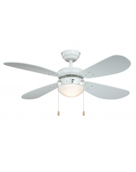 Ventilador de techo con luz AireRyder FN43311 Classic blanco