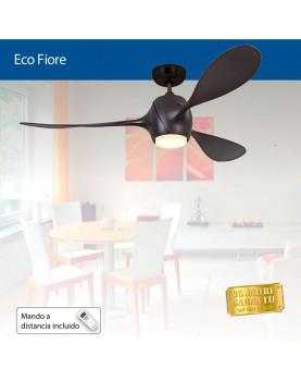 ventilador para el techo moderno color casataño chocolate ECO FIORE