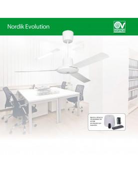 Ventilador de techo Vortice apto para oficinas
