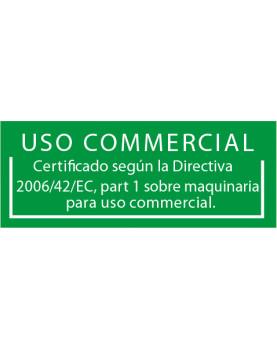 Certificados para uso comercial bajo la Directiva 2006/42/CE