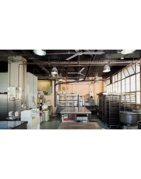 Ventilador techo industrial Vortice con resistencia y certificados