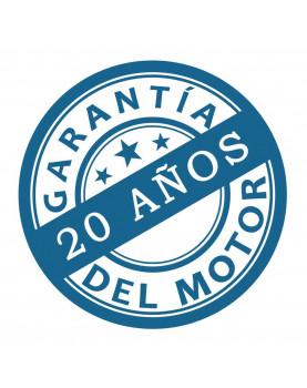 Garantía del motor 20 años