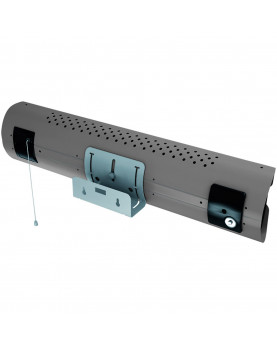 Calentador de cuarzo por infrarrojo Thermologik Design 70004 gris con cadena