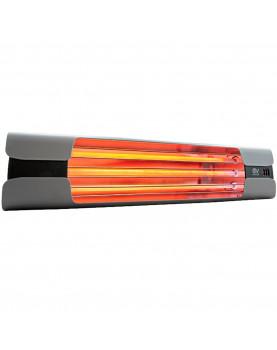 Calentador de cuarzo por infrarrojo Thermologik Design 70004 gris con soporte incluido