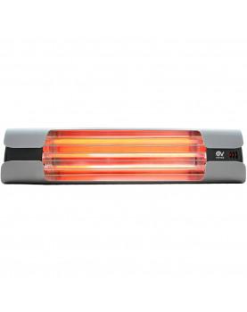 Calentador de cuarzo por infrarrojo Thermologik Design 70004 gris