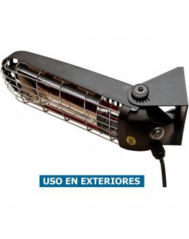 Calefactor halógeno por infrarrojo para terrazas