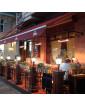 Calefactor halógeno por infrarrojo para bares y terrazas