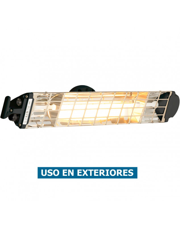 Calefactor halógeno por infrarrojo para exteriores FIORE 1800N